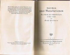 Zwischen Zwei Revolutionen 1. Auflage