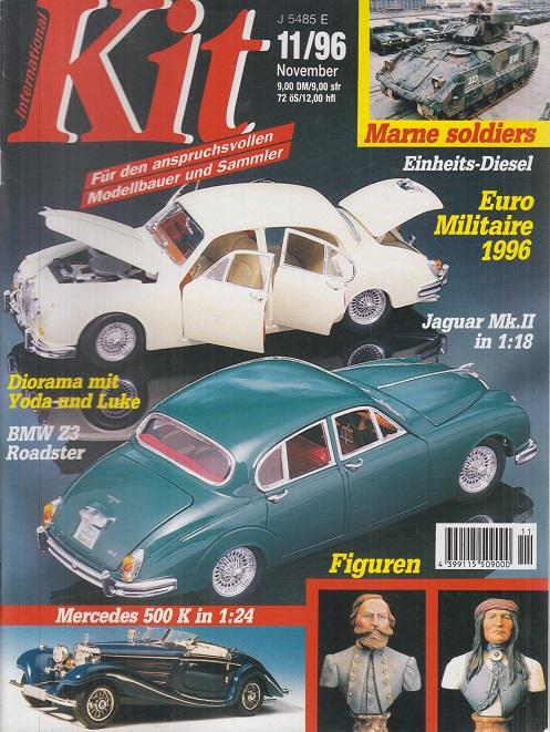 Kit International. Heft 11 , November 1996. Marne soldiers. Einheits-Diesel. Euro Militaire 1996. Jaguar Mk. II in 1:18. Für den anspruchsvollen Modellbauer und Sammler.