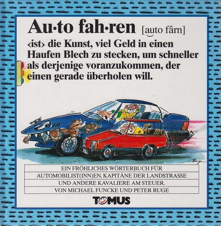 Autofahren Ein fröhliches Wörterbuch 22. Auflage