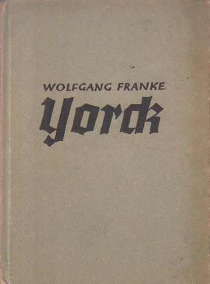 Franke, Wolfgang Yorck : Erzählung.