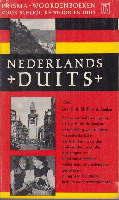 Nederlands - Duits. Prisma-Woordenboeken.