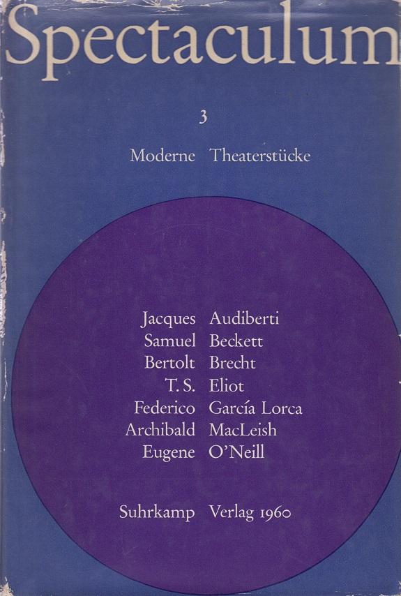 Spectaculum 3.  - Sieben Moderne Theaterstücke