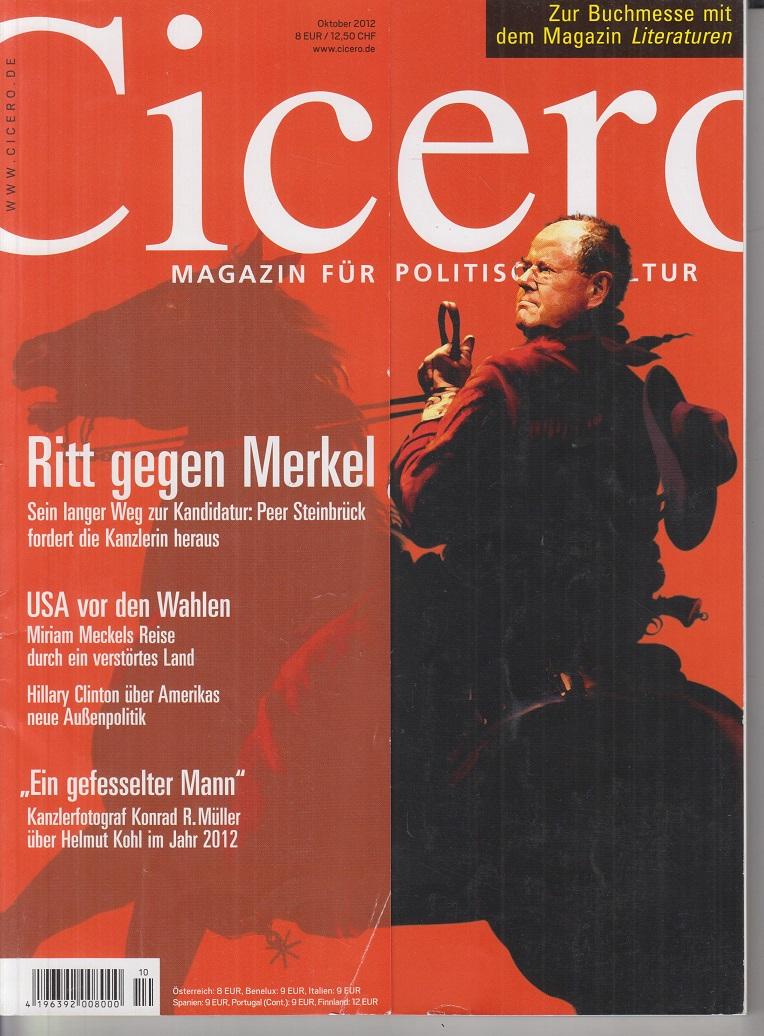 CICERO - Magazin für politische Kultur Oktober 2012 Ritt gegen Merkel