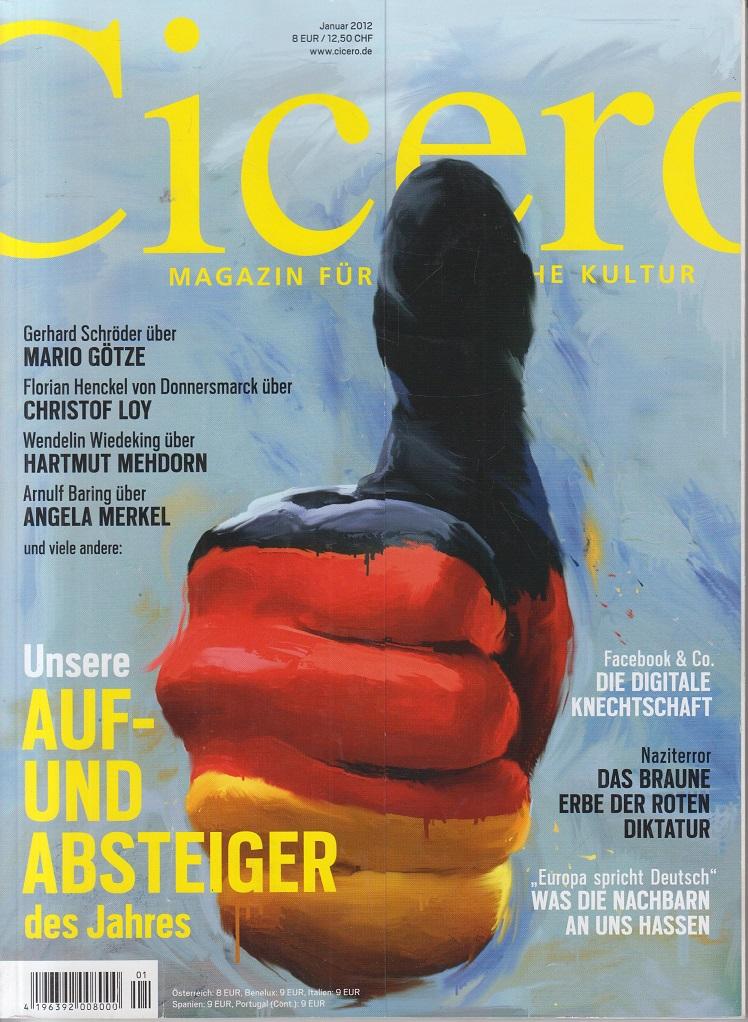 CICERO - Magazin für politische Kultur Januar 2012 Auf- und Absteiger des Jahres