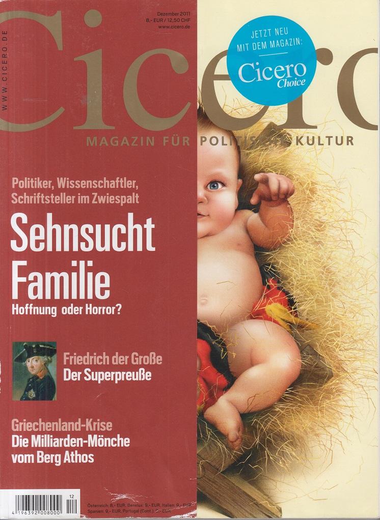 CICERO - Magazin für politische Kultur Dezember 2011 Sehnsucht Familie