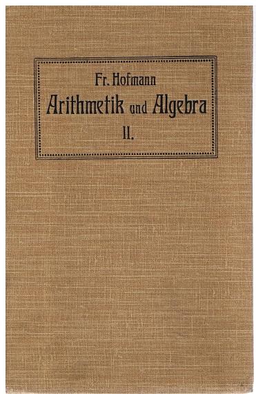 Arithmetik und Algebra