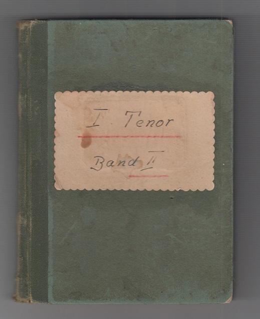 Liedersammlung des Schwäbischen Sängerbundes. Ausgewählte Chöre aus Band I und II. Tenor I