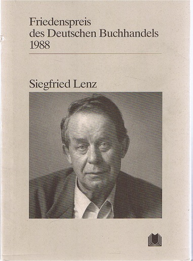 Friedenspreis des Deutschen Buchhandels 1988, Siegfried Lenz