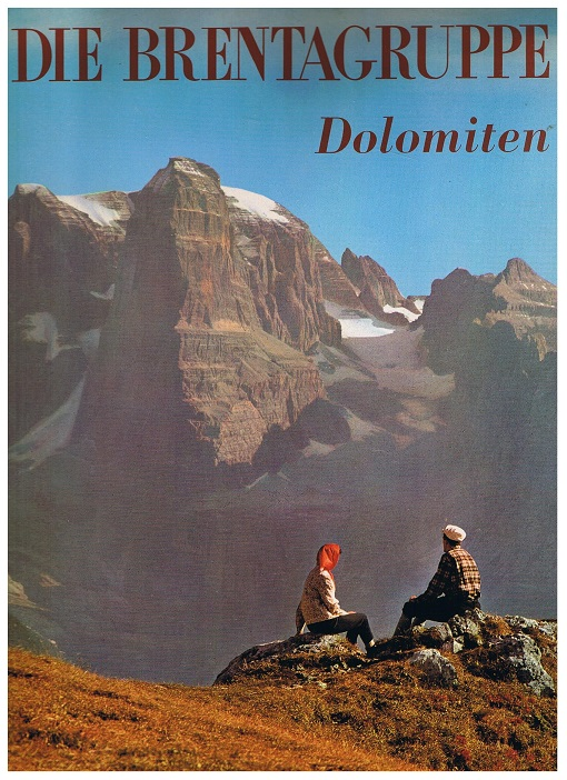Die Brentagruppe, Dolomiten 2. Aufl.