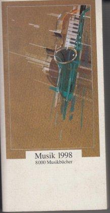 Musik 1998 8000 Musikbücher