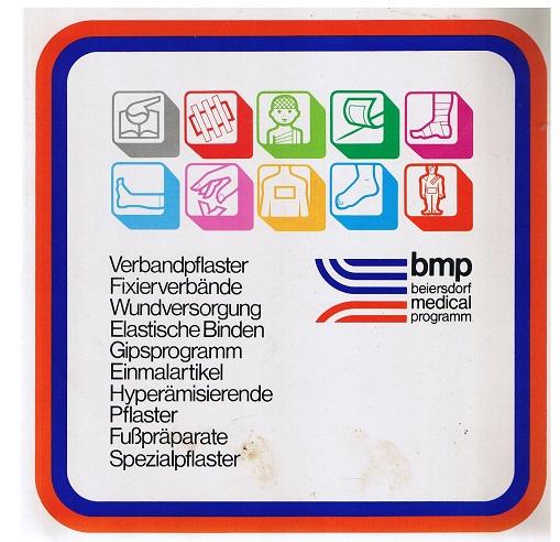 Beiersdorf medical programm Verbandspflaster, Fixierverbände, Wundversorgung, Elastische Binden, Gipsprogramm, Einmalartikel usw.