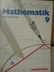 Mathematik. - Braunschweig,  Schuljahr 9 1. Aufl.