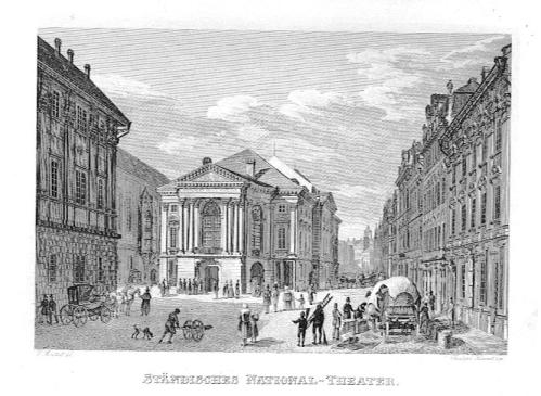 Prag - Ständisches National-Theater,