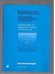 Manual Psychoonkologie 1. Auflage