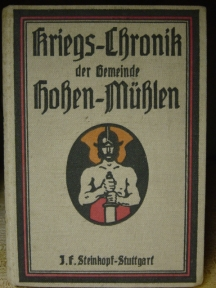 KRIEGS-CHRONIK DER GEMEINDE HOHEN-MÜHLEN.