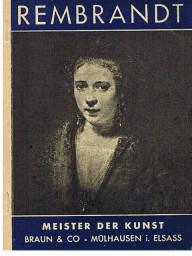 Rembrandt - Meister der Kunst.
