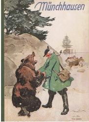 Münchhausen Seine Reisen und Abenteuer. (Wiedererzählt von E. D. Mund).