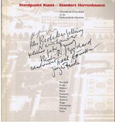 Standpunkt Kunst - Standort Herrenhausen. Lehrende der freien Kunst an der Fachhochschule Hannover. Kunstverein Hannover vom 1. April bis zum 20. Mai 1984.