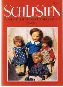 Schlesien: Kunst, Wissenschaft, Volkskunde: Niederschlesien - Oberschlesien - Sudetenschlesien. Eine Vierteljahresschrift begründet von Karl Schodrok 1983, Jahrgang XXVIII Heft IV.