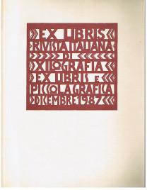 Ex Libris. Rivista italiana die Xilografia Ex Libris e piccola grafica. No. 6: Dicembre 1987. (In italienischer Sprache).