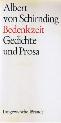 Bedenkzeit - Gedichte und Prosa -