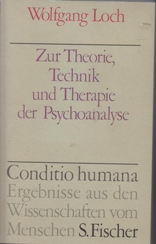 Zur Theorie, Technik und Therapie der Psychoanalyse