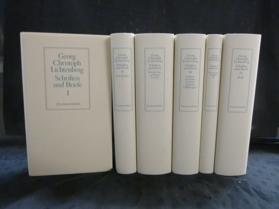 Schriften und Briefe. Text- u. Kommentarbände in zus. 6 Bdn. ( kpl. ) ( Herausgeg. von Wolfgang Promies ).