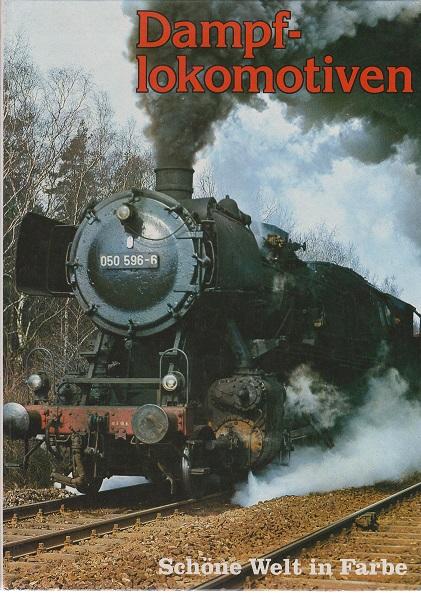 Dampflokomotiven. Schöne Welt in Farbe.