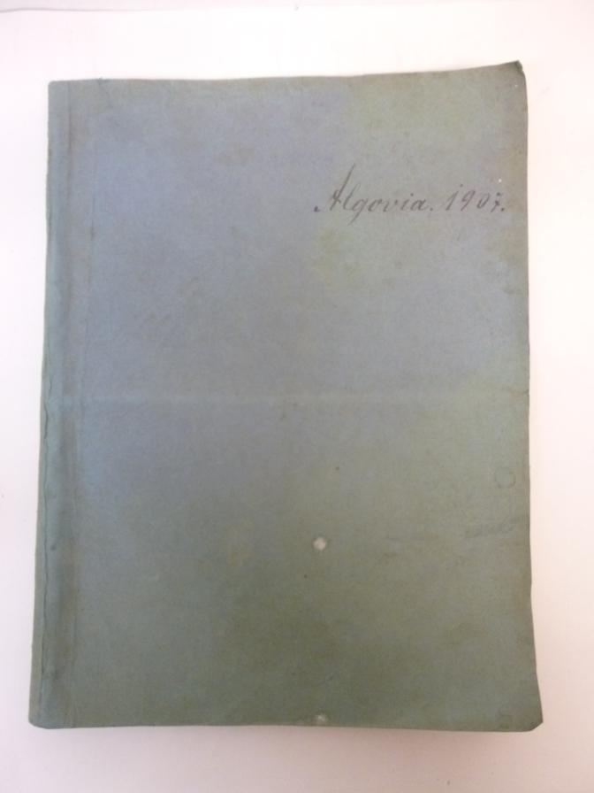 """Algovia. Belletristische Beilage zur """"Allgäuer Zeitung"""" Jahrg.1907 ( 1-52 kpl. )"""