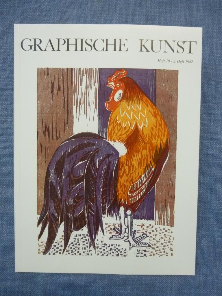 Graphische Kunst Heft 19 / 2. Heft 1982 Ausgabe D ohne Beilagen