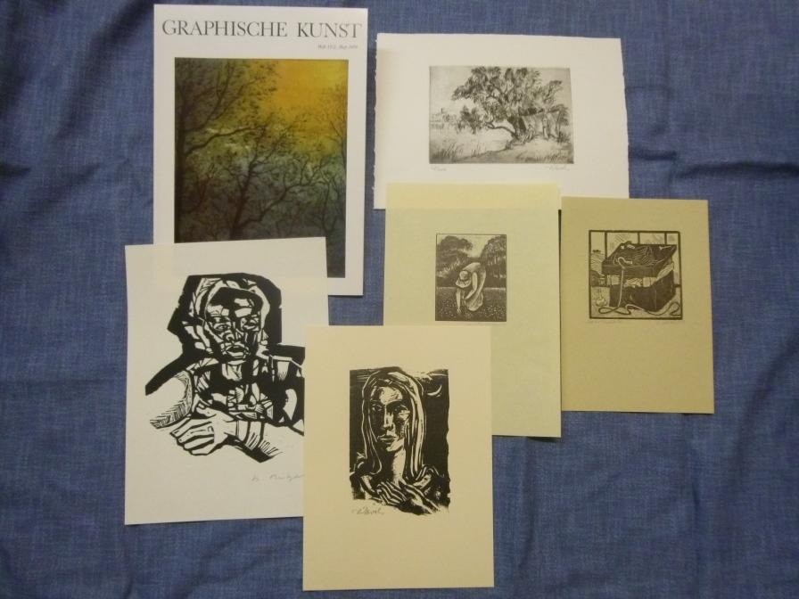 Graphische Kunst Heft 13 / 2. Heft 1979 Ausgabe B mit Originalgraphik-Beilagen