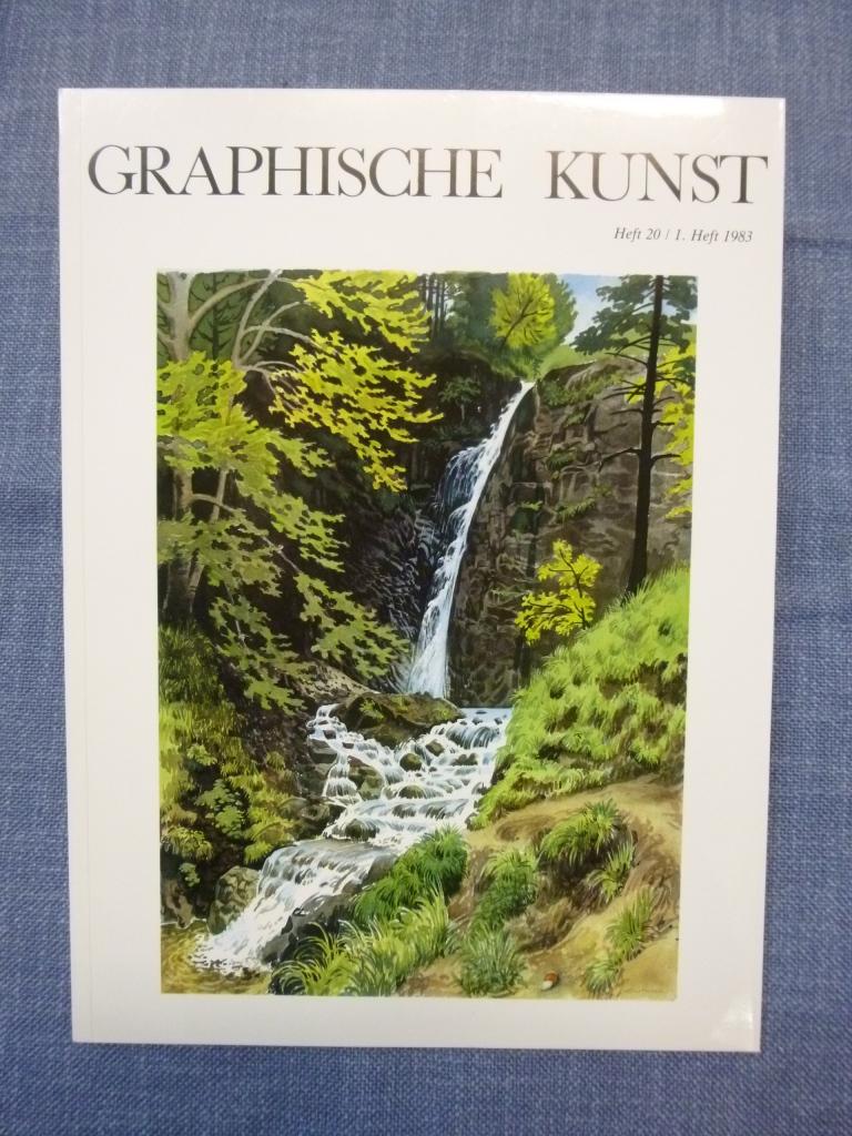 Graphische Kunst Heft 20 / 1. Heft 1983 Ausgabe D ohne Beilagen