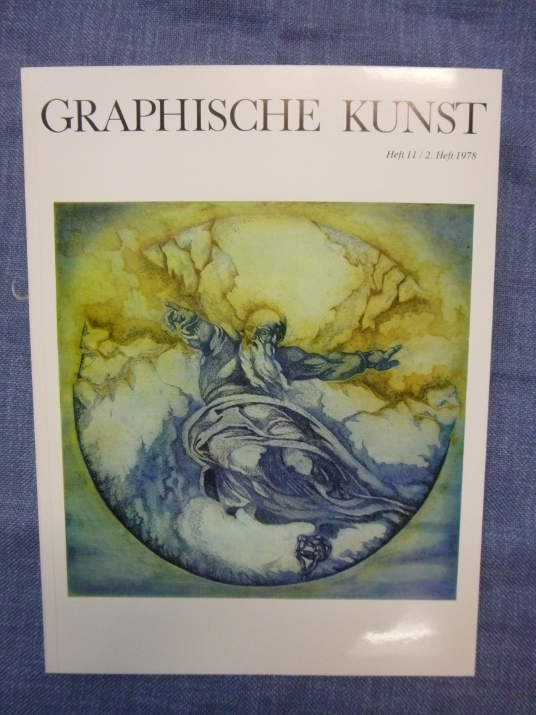 Graphische Kunst Heft 11 / 2. Heft 1978 Ausgabe D ohne Beilagen