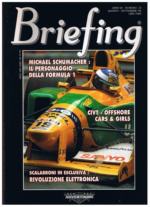 Briefing. Numero 13 Agosto-Settembre