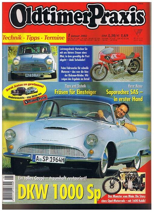 Oldtimer Praxis. Heft 1 Januar 2002