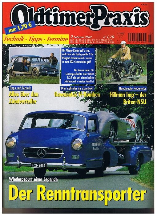 Oldtimer Praxis. Heft 2 Februar 2002