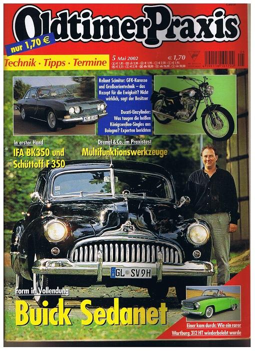 Oldtimer Praxis. Heft 5 Mai 2002
