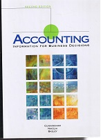 Accounting. Information for Business Decisions. 2. Edt.