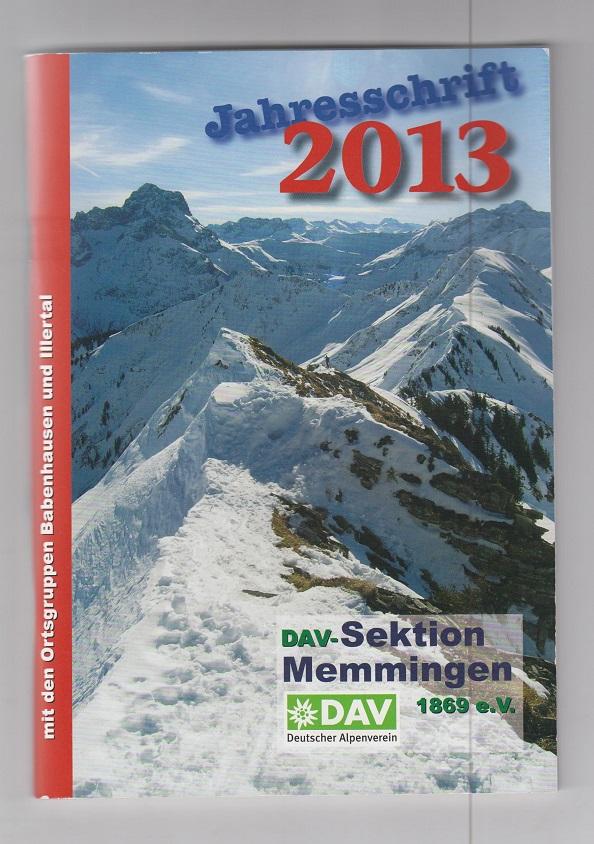 Jahresschrift 2013.