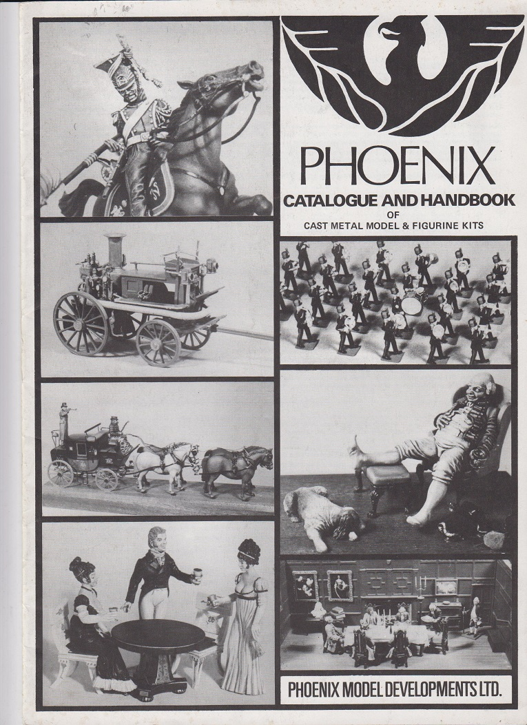 Phoenix - Cataloque and Handbook of Cast metal Model & Figurine Kits