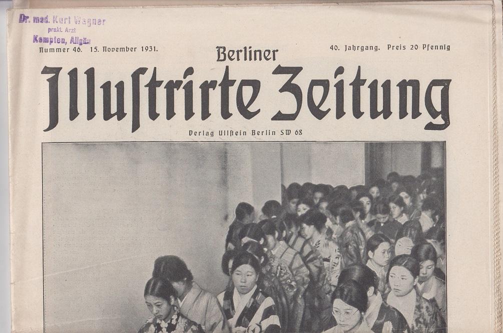 Berliner illustrierte Zeitung 40. Jahrgang, Nr. 46, 15. November 1931