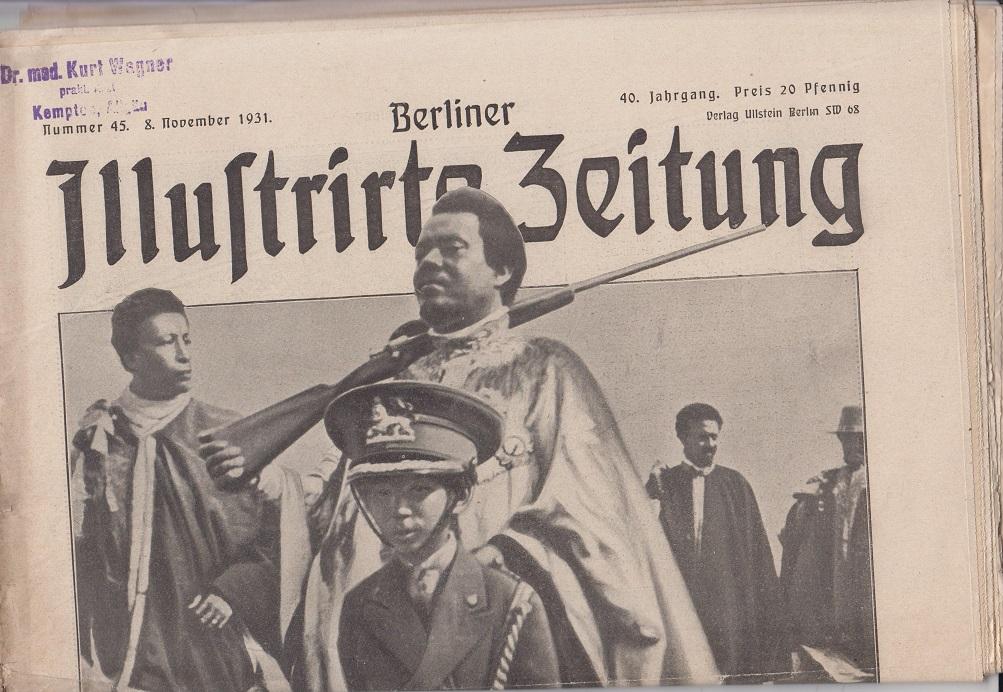 Berliner illustrierte Zeitung 40. Jahrgang, Nr. 45, 8. November 1931