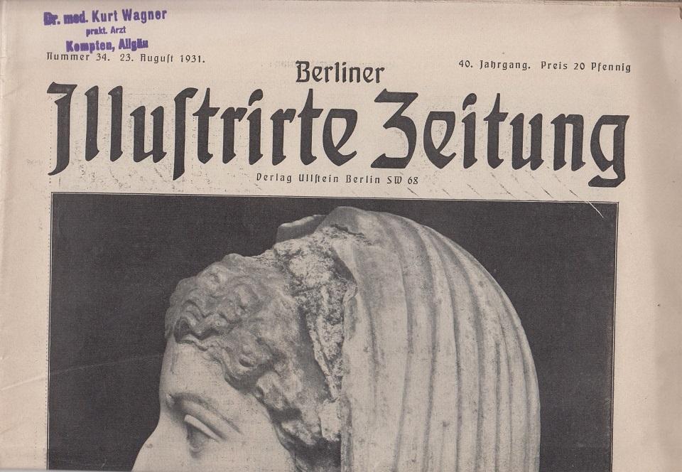Berliner illustrierte Zeitung 40. Jahrgang, Nr. 34, 23. August 1931