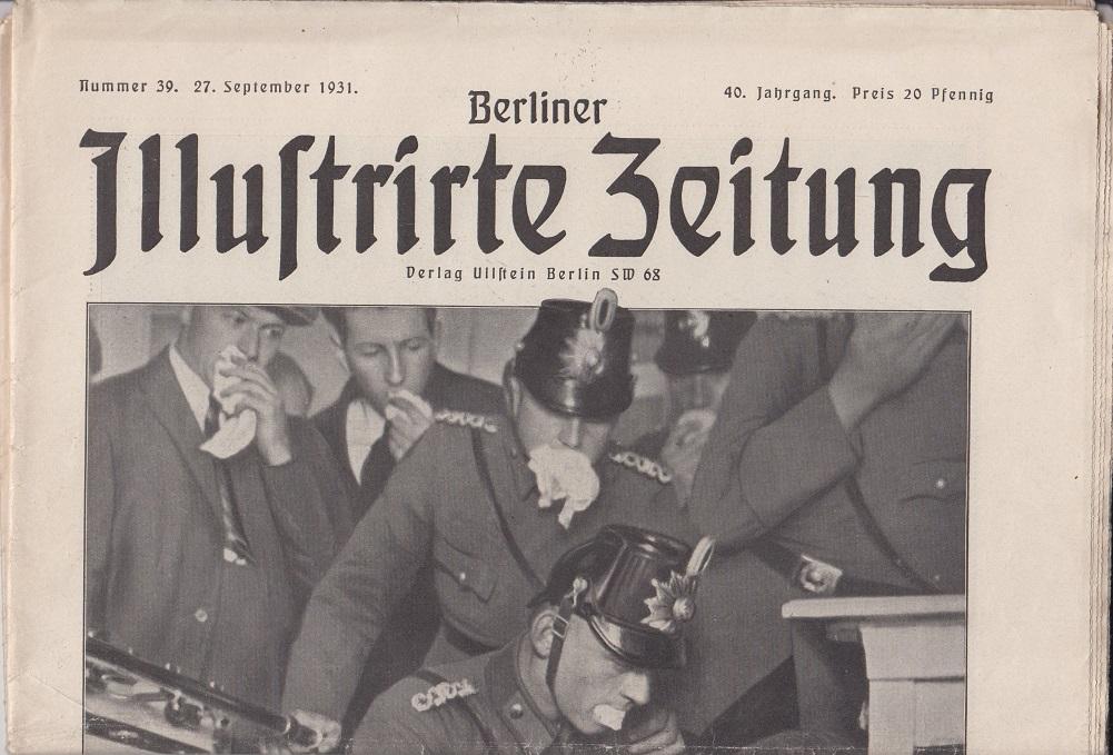 Berliner illustrierte Zeitung 40. Jahrgang, Nr. 39, 27. September 1931