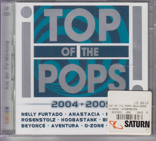 Various, Artists Top of the Pops 2004/2005