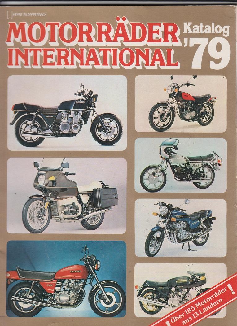 Motorräder International Katalog