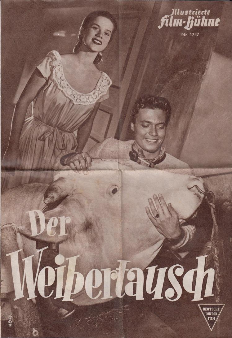 Illustrierte Film-Bühne:Nr. 1747 - Der Weibertausch