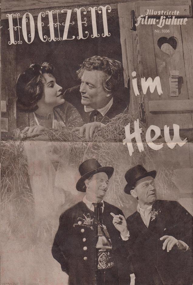 Illustrierte Film-Bühne:Nr. 1036 - Hochzeit im Heu