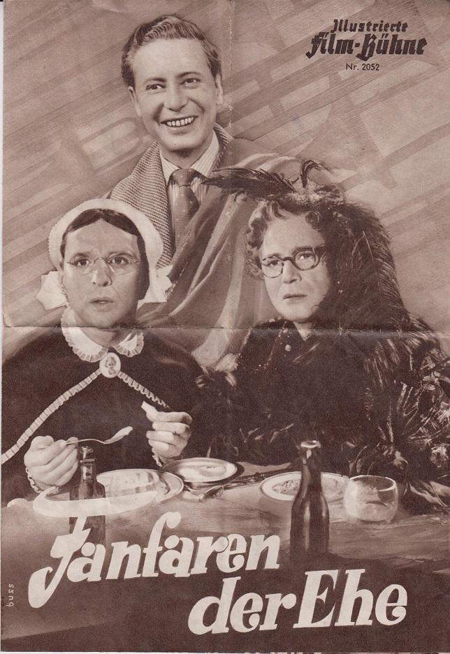 Illustrierte Film-Bühne:Nr. 2052 - Fanfaren der Ehe