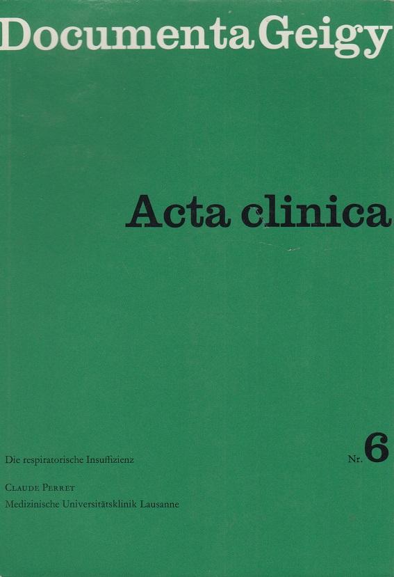 Acta clinica Nr. 6